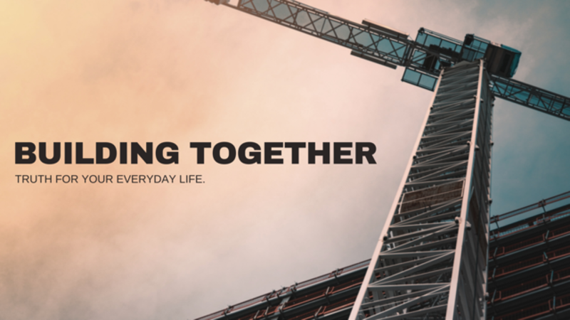 Building Together: The Good Hand of God